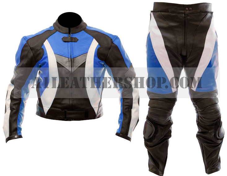 2 piece motorcycle racing leather suit