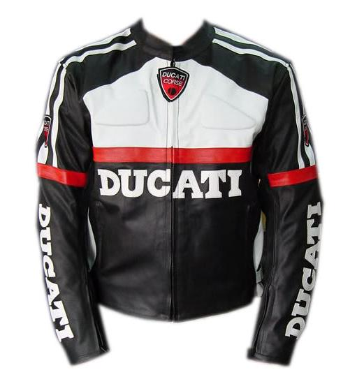 DUCATI Brand Motorbike Leather Jacket