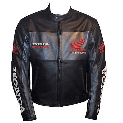 HONDA Motorcycle racing Leather Jacket