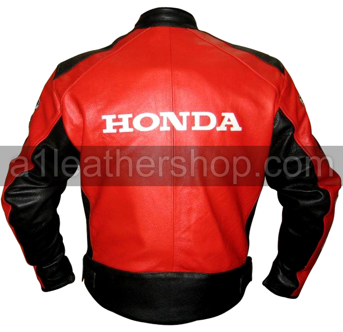 Motorcycle Leather Jackets Honda Joe Rocket Red Black Motorcycle