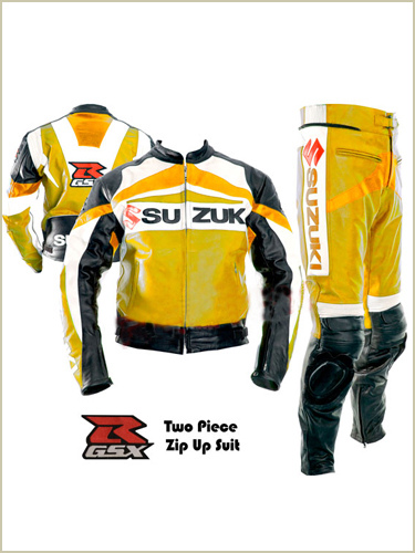 New Stylish Suzuki GSXR Leather Suit