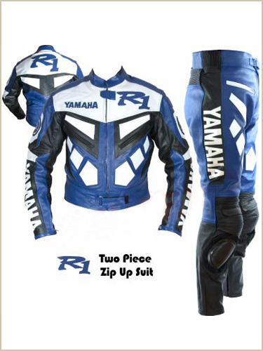 YAMAHA R1 Brand Motorbike Leather Suit
