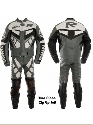 Yamaha R Motorbike Leather Suit