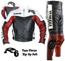 YAMAHA R6 Brand Motorbike Leather Suit