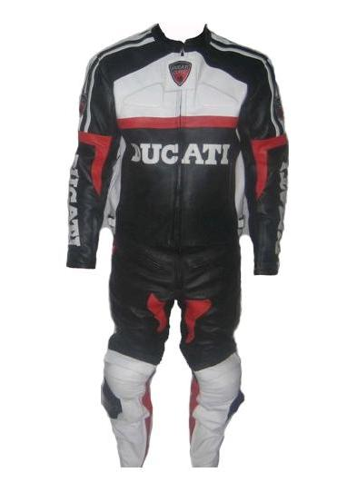 New Stylish DUCATI Brand Motorbike Racing Leather Suit