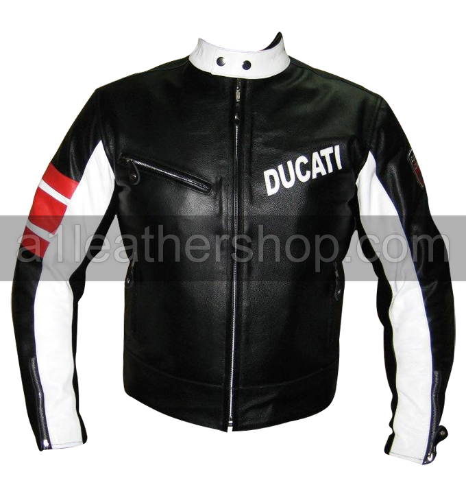 Ducati Fashion motorcycle leather jacket