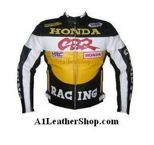 Honda CBR Motorcyle Leather Jacket