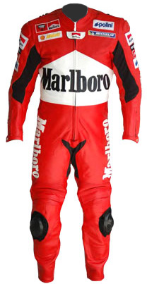 Marlboro motorcycle leather racing suit