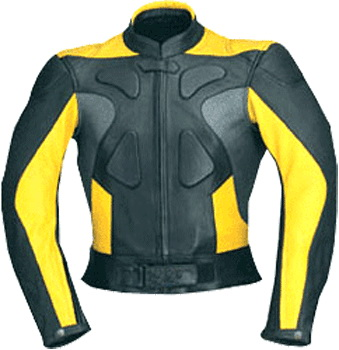 Motorcycle biker racing leather jacket