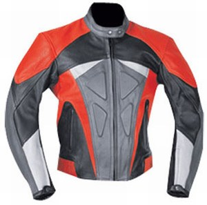 mens stylish motorbike leather jacket