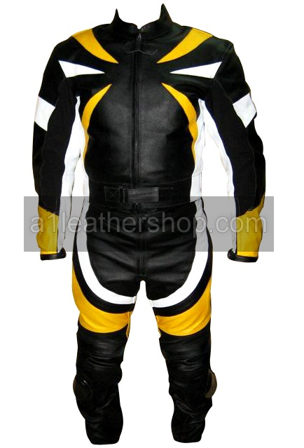 one piece fashion motorcycle racing leather suit